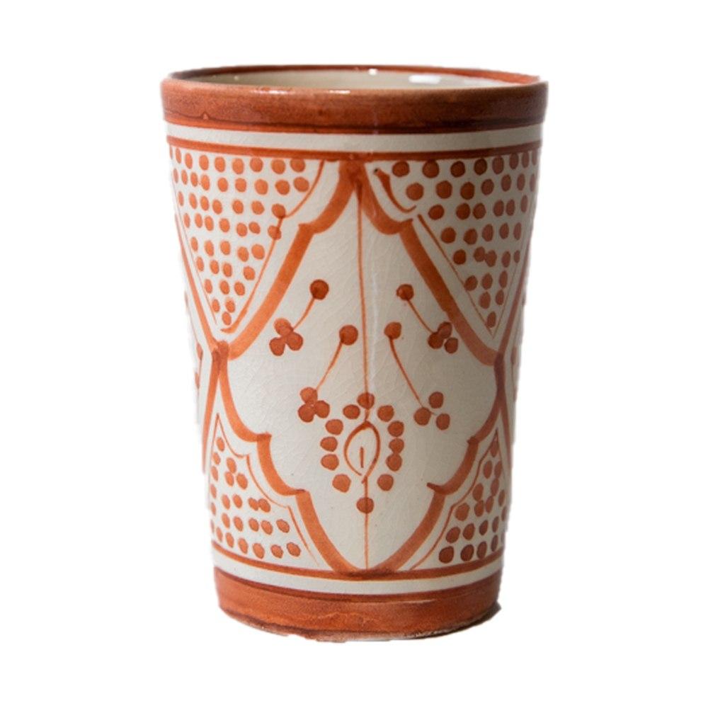 כוס חמרה פרחים L