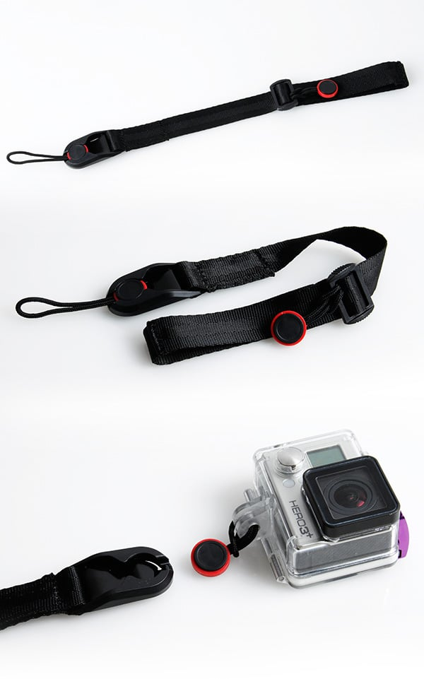 רצועת יד עם שחרור מהיר למצלמה - Jeeper.co.il