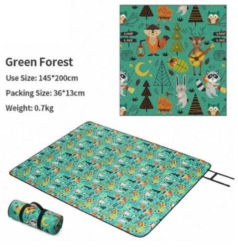 מחצלת N.H מעוצבת - GREEN FOREST
