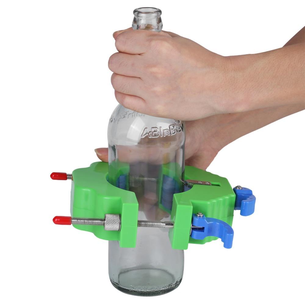 חותך בקבוקי זכוכית - אומנות ביתית