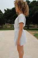 שמלת מיקה פסים