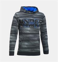 קפוצ'ון  נוער אנדר ארמור 1302299-001 Under armour boys` Storm  Fleece Big Logo Printed