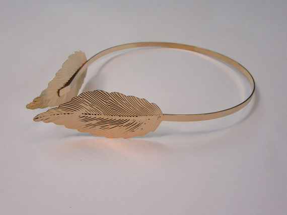 קשת עלה זהב יוונית, קשת הפוכה זהב, נזר לשיער לכלות