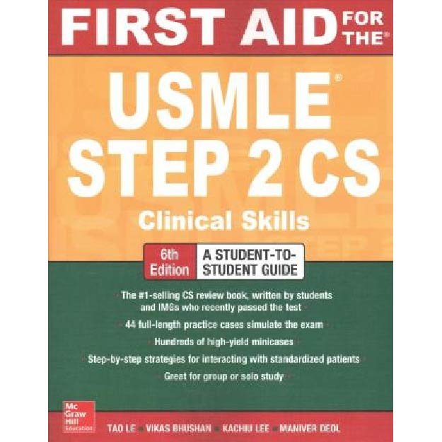First Aid for the USMLE Step 2 CS