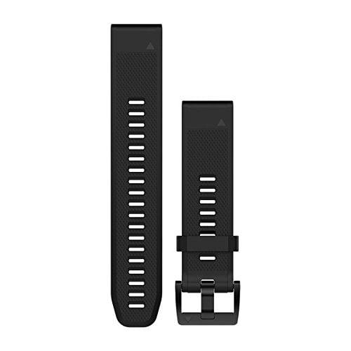 רצועה מקורית לשעון גרמין Garmin Fenix 5 QuickFit 22 Watch Bands שחור