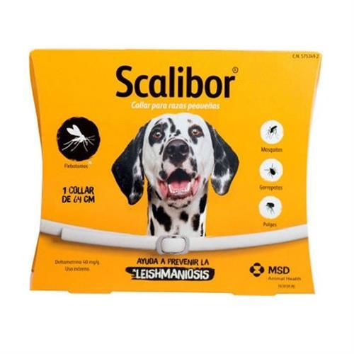 קולר סקליבור למניעת קרציות לכלב גדול