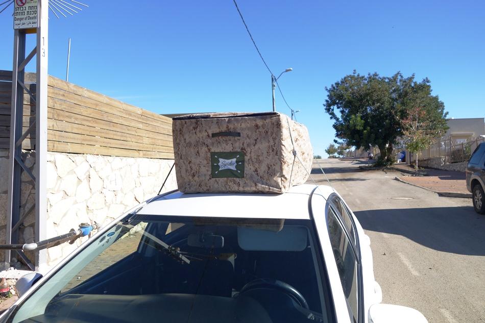 """תיגג - תיק לגג לרכב - 370 ליטר  """"כל הבגאג' על הגג"""""""