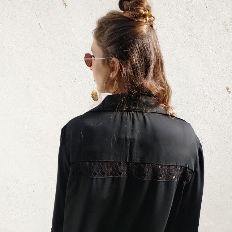 שמלת ג'וי  שחורה