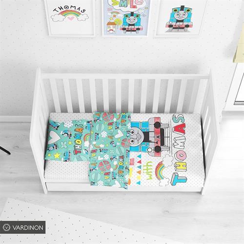 מיטת תינוק תומס הקטר ורדינון