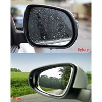 2 מדבקות אנטי גשם למראות הרכב