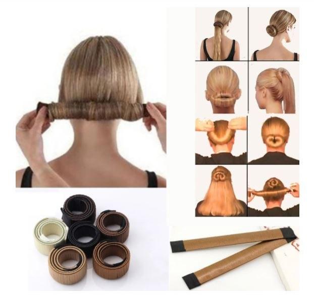 סט 3 סיכות שיער למראה מעוצב
