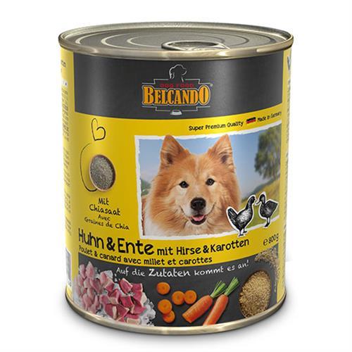 שימורי מזון כלבים בלקנדו – עוף וברווז 800 גר'