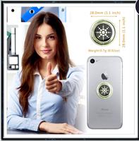 מדבקות מסנן קרינה לסלולרי- 6pcs -מגן קוונטי לקרינת סלולר, ווייפיי ובלוטוס