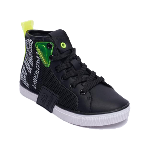 FILA נעל סניקרס שחור ירוק מידות 26-31