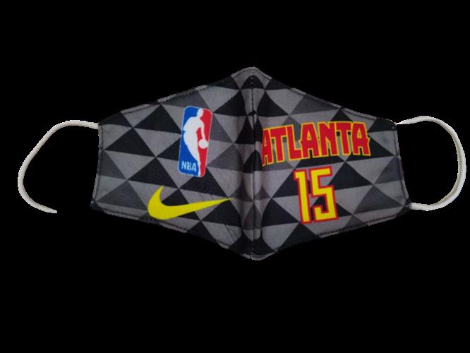 מסכת פנים מעוצבת אטלנטה NBA