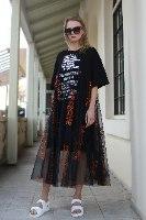 שמלה  שילוב טול