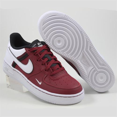 נעלי נשים נייק אייר פורס 1 07 LV8 2 צבע בורדו/לבן דגם CI1756 600