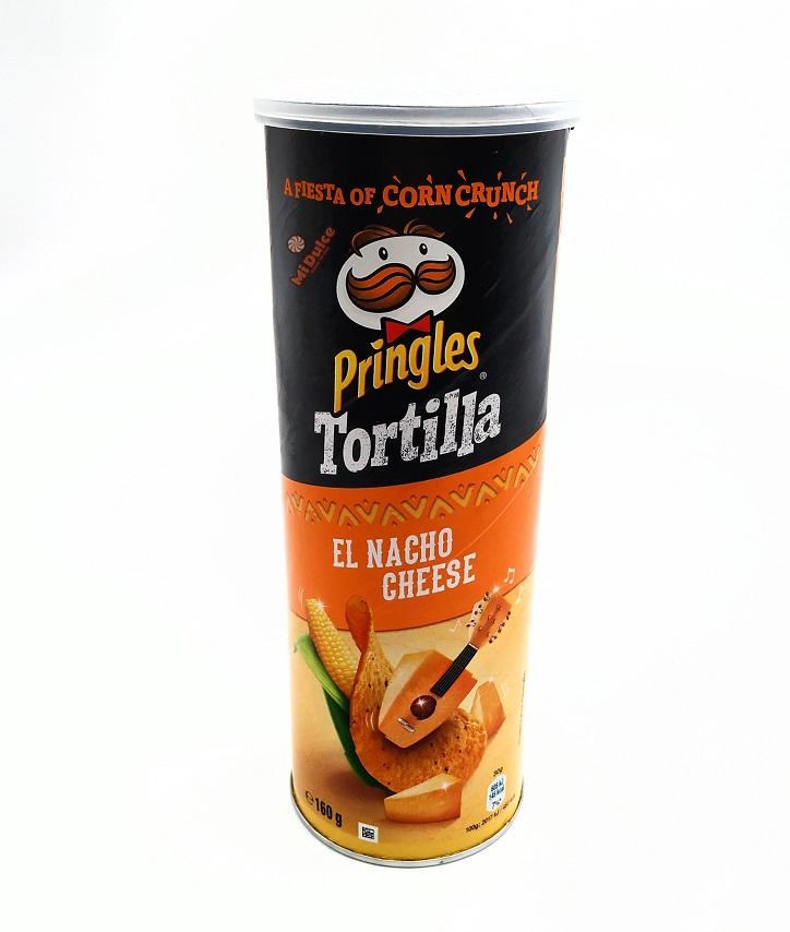 Pringles Tortilla Nacho Cheese