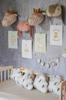 חבילת עיצוב לחדר ארנבון ורוד
