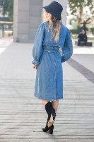 שמלת ג'ינס דגם מוניקה