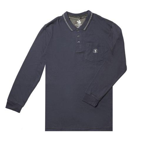 חולצת פולו SANTA BARBRA עם כיס גברים