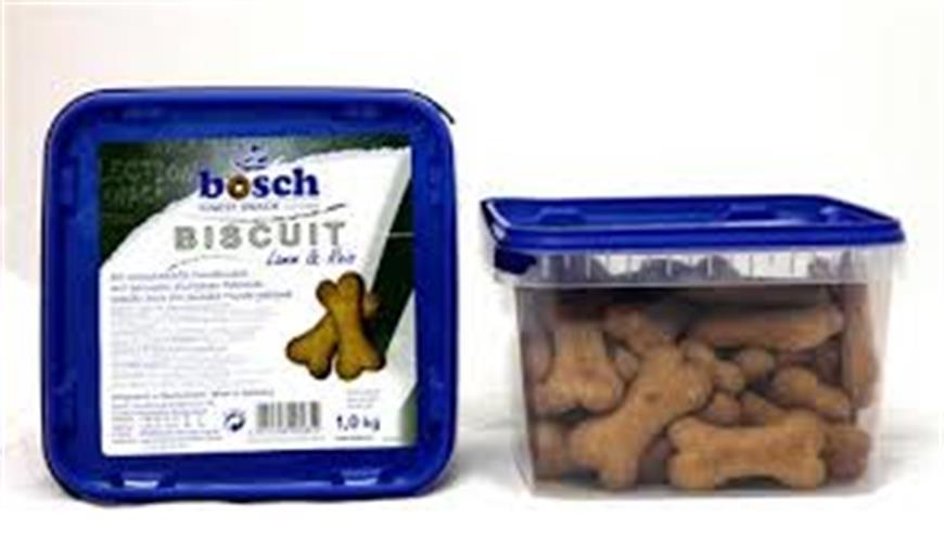 """ביסקוויט לכלב """"בוש"""" עוף/כבש/עוגה 1 ק""""ג!"""