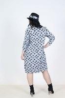שמלת כיסים פליז