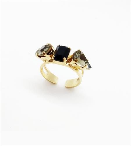 טבעת אודרי זהב