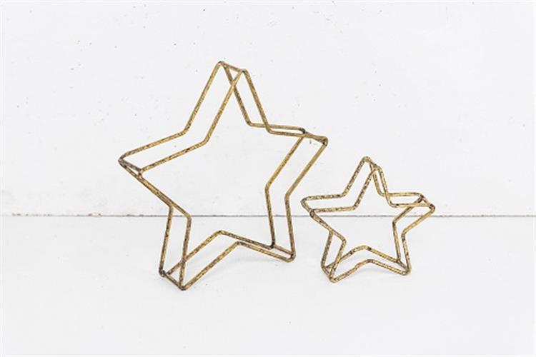 זוג כוכבי ברזל זהב