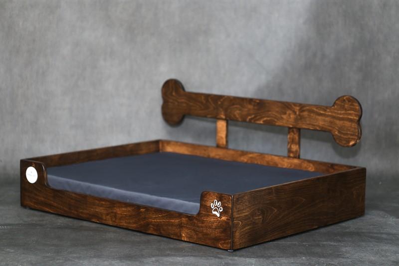 מיטה לכלב- בונזי L חום