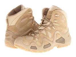 נעליים טקטיות הרים לואה חום בהיר מדברי  LOWA Zephyr  Mid Desertדגם נשים 37-40