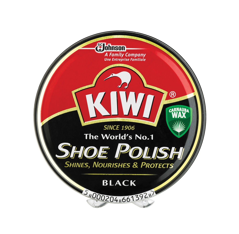 משחת נעליים שחורה לנעליים צבאיות- KIWI