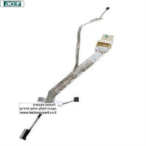 כבל מסך למחשב נייד אייסר  Acer Aspire LCD LVDS Cable 5738 5738Z 5542 - 50.4CG13.002