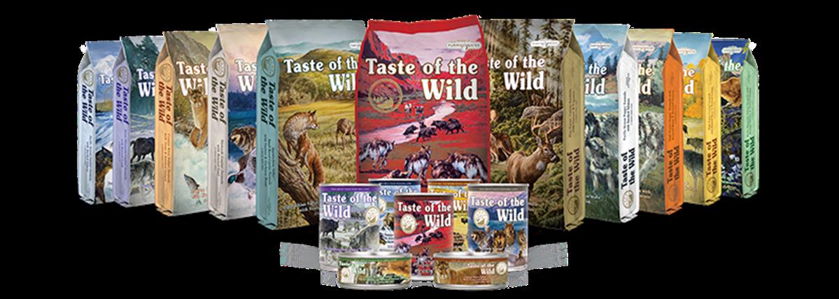 Taste Of The Wild - יוגי-בר