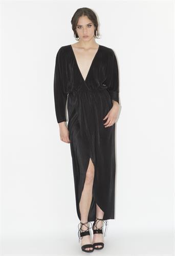 שמלת לורן שחורה