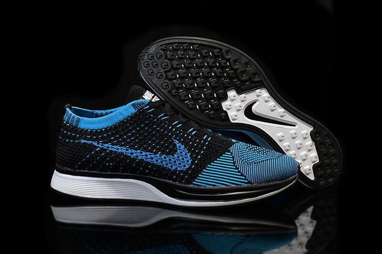 נעלי Nike Flyknit Racer בגימור Black Blue מידות 40-45
