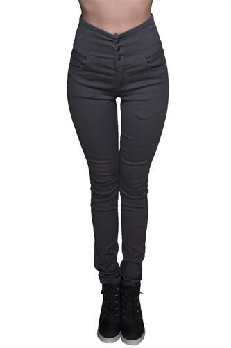 ג'ינס יוני אפור