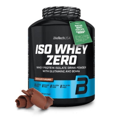 Iso Whey Zero BioTech|אבקת חלבון אייזולט מובחרת