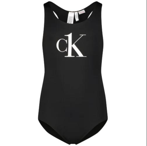 בגד ים שלם שחור CALVIN KLIEN - מידות 8-16