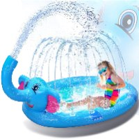 מזרקת מים בצורת פיל