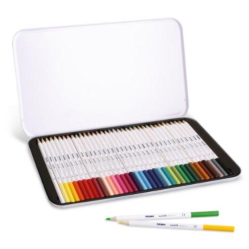 עפרונות שעווה צבעוניים 36 בסט - PRIMO