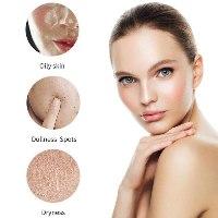 מסכת אבקה מתקלפת לפנים לשיקום וטיפוח העור