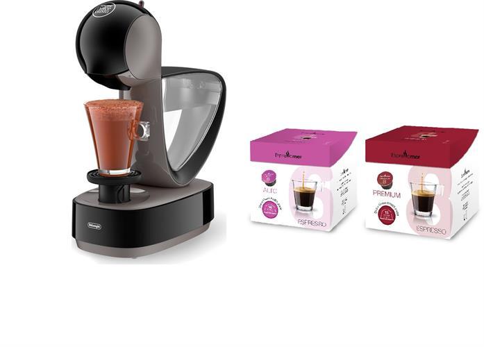 מכונת Infinissima - Nescafe Dolce Gusto  + קפסולות 32 תואמות במתנה !!