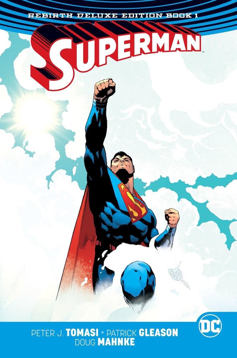 Superman Rebirth Deluxe Edition HC Book 1