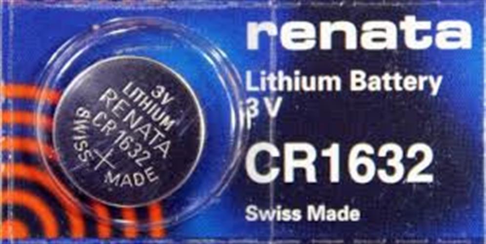 סוללות ליטיום 5 יחידות RENATA LITHIUM CR1632