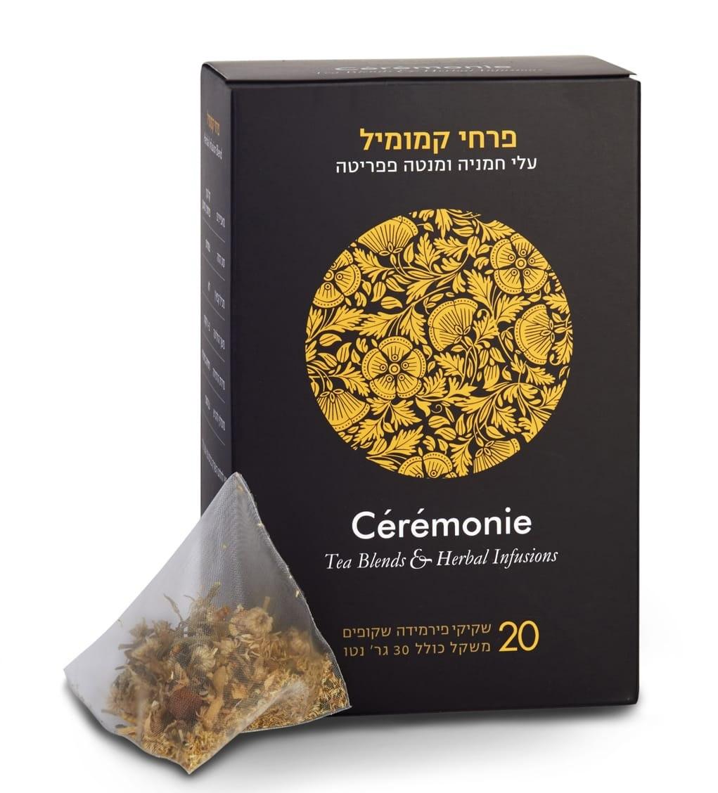 חליטת תה פרחי קמומיל 20 יח'