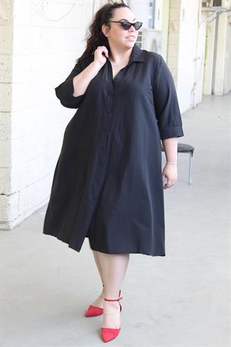 שמלת ניו יורק שחור
