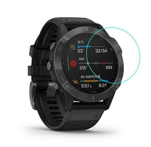 מגן זכוכית לשעון Garmin Fenix 6  - סט 3 יחידות