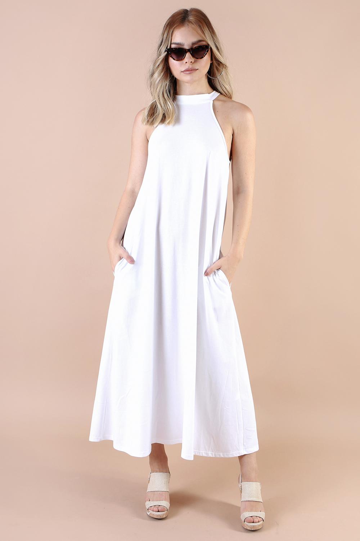 שמלת קים לבנה