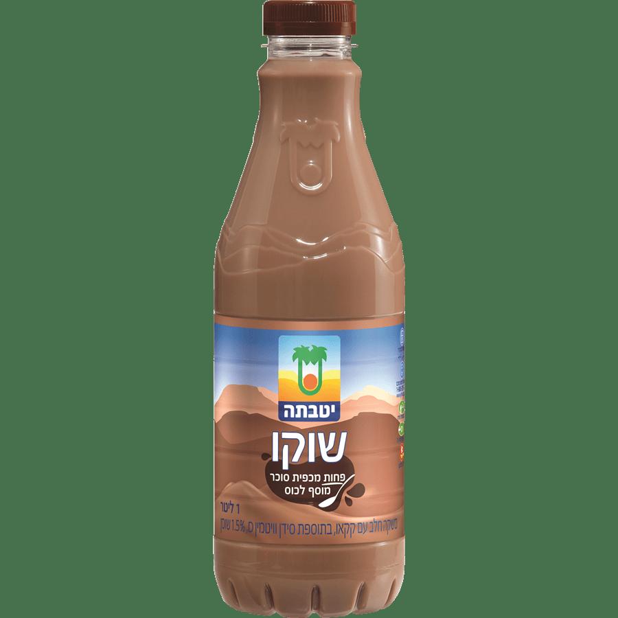שוקו יטבתה בבקבוק
